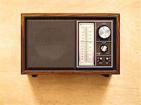 Retro 1970s Radio    Stock Photo - Premium Rights-Managednull, Code: 700-02723158