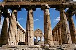Temple of Ceres, Paestum, Campania, Italy. 500 BC    Stock Photo - Premium Rights-Managed, Artist: Arcaid, Code: 845-02724769