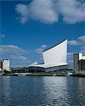 Imperial War Museum North, Salford, Manchester - Exterior. Architect: Daniel Libeskind    Stock Photo - Premium Rights-Managed, Artist: Arcaid, Code: 845-02724824