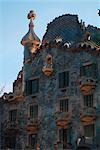 Casa Batllo, Barcelona (1904-6). Architect: Gaudi    Stock Photo - Premium Rights-Managed, Artist: Arcaid, Code: 845-02724850