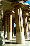 Parc Guell, Barcelona, Spain. (1900-14). Architect: Gaudi.    Stock Photo - Premium Rights-Managed, Artist: Arcaid, Code: 845-02724857