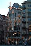 Casa Batllo, Barcelona (1904-6). Architect: Gaudi    Stock Photo - Premium Rights-Managed, Artist: Arcaid, Code: 845-02724860