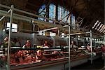Market, housed in  ex-Zeppelin factory, Riga    Stock Photo - Premium Rights-Managed, Artist: Arcaid, Code: 845-02724929