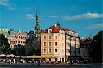 Town Square, Old Town, Riga    Stock Photo - Premium Rights-Managed, Artist: Arcaid, Code: 845-02724932