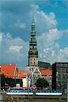 St Peter's Church, Old Town, Riga    Stock Photo - Premium Rights-Managed, Artist: Arcaid, Code: 845-02724935