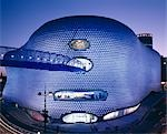 Selfridges, Birmingham, England. (2003) - Exterior at dusk. Architect: Future Systems    Stock Photo - Premium Rights-Managed, Artist: Arcaid, Code: 845-02724950