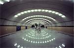 Underground platform, Warsaw.    Stock Photo - Premium Rights-Managed, Artist: Arcaid, Code: 845-02725117
