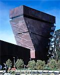 de Young Museum, San Francisco, 2005. Tower. Architect: Herzog and de Meuron    Stock Photo - Premium Rights-Managed, Artist: Arcaid, Code: 845-02725637