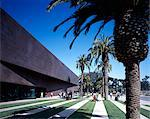 de Young Museum, San Francisco, 2005. Entrance Facade. Architect: Herzog and de Meuron    Stock Photo - Premium Rights-Managed, Artist: Arcaid, Code: 845-02725641