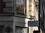 Crest, Fortnum and Mason, Piccadilly, London.    Stock Photo - Premium Rights-Managed, Artist: Arcaid, Code: 845-02725670