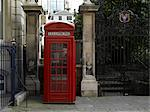 Phone box, City of London, London. Architect: Sir Giles Gilbert Scott.    Stock Photo - Premium Rights-Managed, Artist: Arcaid, Code: 845-02725701