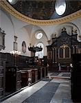 St Mary AbChurch, London. Architect: Sir Christopher Wren.