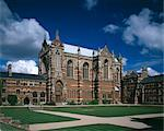 The Chapel, Keble College, Oxford University, Oxford, 1867 - 1883. Architect: William Butterfield    Stock Photo - Premium Rights-Managed, Artist: Arcaid, Code: 845-02726503
