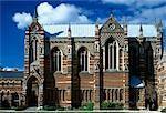 The Chapel, Keble College, Oxford University, Oxford, 1867 - 1883. Architect: William Butterfield    Stock Photo - Premium Rights-Managed, Artist: Arcaid, Code: 845-02726504
