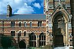 The Chapel, Keble College, Oxford University, Oxford, 1867 - 1883. Architect: William Butterfield    Stock Photo - Premium Rights-Managed, Artist: Arcaid, Code: 845-02726505