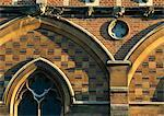 The Chapel, Keble College, Oxford University, Oxford, 1867 - 1883. Architect: William Butterfield    Stock Photo - Premium Rights-Managed, Artist: Arcaid, Code: 845-02726506