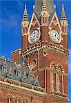 The Midland Grand Hotel, St. Pancras Station, London, 1866  1877. Architect: George Gilbert Scott    Stock Photo - Premium Rights-Managed, Artist: Arcaid, Code: 845-02726511