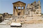 Capitol, Dougga    Stock Photo - Premium Rights-Managed, Artist: Arcaid, Code: 845-02726904