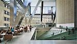 Hearst Tower, 300 West 57th Street, New York. 2006. Lobby. Architect: Foster and Partners    Stock Photo - Premium Rights-Managed, Artist: Arcaid, Code: 845-02727010