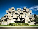 Habitat '67, 2600, Pierre Dupuy Avenue, Montreal, 1967. Facade. Architect: Moshe Safdie    Stock Photo - Premium Rights-Managed, Artist: Arcaid, Code: 845-02727033