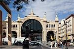 Central Market, Zaragoza. Architect: Felix Navarro.    Stock Photo - Premium Rights-Managed, Artist: Arcaid, Code: 845-02727841