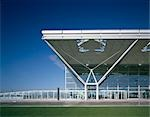 Stansted Airport, Essex, 1981. Architect: Foster Associates    Stock Photo - Premium Rights-Managed, Artist: Arcaid, Code: 845-02727902