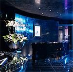 G Hotel, Galway, Ireland - Reception. Designer, Philip Treacey. Douglas Wallace Architects. Interiors: Stephen Treacey.    Stock Photo - Premium Rights-Managed, Artist: Arcaid, Code: 845-02728804