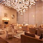 G Hotel, Galway, Ireland - Reception. Designer, Philip Treacey. Douglas Wallace Architects. Interiors: Stephen Treacey.    Stock Photo - Premium Rights-Managed, Artist: Arcaid, Code: 845-02728806