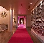 G Hotel, Galway, Ireland - Reception. Designer, Philip Treacey. Douglas Wallace Architects. Interiors: Stephen Treacey.    Stock Photo - Premium Rights-Managed, Artist: Arcaid, Code: 845-02728808