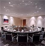 G Hotel, Galway, Ireland - Meeting Room. Designer, Philip Treacey. Douglas Wallace Architects. Interiors: Stephen Treacey.    Stock Photo - Premium Rights-Managed, Artist: Arcaid, Code: 845-02728823