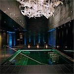 G Hotel, Galway, Ireland -Spa. Designer, Philip Treacey. Douglas Wallace Architects. Interiors: Stephen Treacey.    Stock Photo - Premium Rights-Managed, Artist: Arcaid, Code: 845-02728826