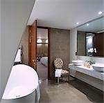 G Hotel, Galway, Ireland - Suite. Designer, Philip Treacey. Douglas Wallace Architects. Interiors: Stephen Treacey.    Stock Photo - Premium Rights-Managed, Artist: Arcaid, Code: 845-02728832