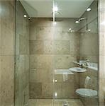G Hotel, Galway, Ireland - Bathroom. Designer, Philip Treacey. Douglas Wallace Architects. Interiors: Stephen Treacey.    Stock Photo - Premium Rights-Managed, Artist: Arcaid, Code: 845-02728843