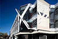 John Curtain School of Medical Research, Canberra, Australia. Architect: Lyons.    Stock Photo - Premium Rights-Managednull, Code: 845-02729002