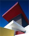 In-N-Out Burger Restaurant, Westwood, California, 1997. Abstract. Kanner Architects    Stock Photo - Premium Rights-Managed, Artist: Arcaid, Code: 845-02729643