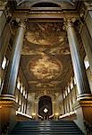 Interior of Painted Hall, Royal Naval College, Greenwich, London,. Architect: Sir Christopher Wren    Stock Photo - Premium Rights-Managed, Artist: Arcaid, Code: 845-02729690
