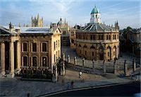 Sheldonian Theatre, Broad St, Oxford, England, 1662 - 1669. One of Christopher Wren's first buildings. Architect: Christopher Wren    Stock Photo - Premium Rights-Managednull, Code: 845-02729706