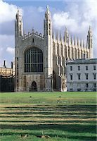 King's College Chapel, Cambridge University, Cambridge, England. Completed 1547.    Stock Photo - Premium Rights-Managednull, Code: 845-02729707