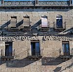 Ciudad Rodrigo, Castile, Spain. Windows and balconies    Stock Photo - Premium Rights-Managed, Artist: Arcaid, Code: 845-02729750