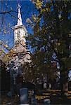 Gloria Dei, The Old Swedes' Church, Philadelphia, 1700.    Stock Photo - Premium Rights-Managed, Artist: Arcaid, Code: 845-02729873