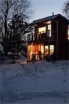 Cabin in Winter, Prince Edward County, Ontario, Canada