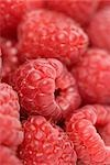 Closeup of Raspberries