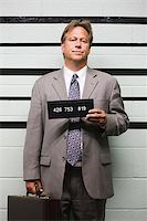 Mugshot of businessman Stock Photo - Premium Royalty-Freenull, Code: 614-02739985