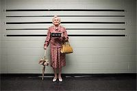 MUgshot of senior woman Stock Photo - Premium Royalty-Freenull, Code: 614-02740005