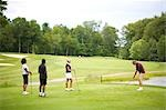 People Golfing    Stock Photo - Premium Royalty-Free, Artist: Blue Images Online, Code: 600-02751467