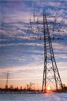 Old Willow Trees and High Voltage Hydro Tower at Sunrise, Siegburg, North Rhine-Westphalia, Germany Stock Photo - Premium Rights-Managednull, Code: 700-02756702
