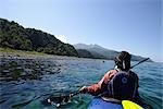 Person Boating on Kayak,  Hokkaido, Japan Stock Photo - Premium Royalty-Free, Artist: Aflo Sport               , Code: 622-02759061