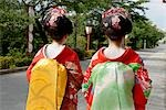 Geisha Wearing Traditional Costume in Kyoto, Japan Stock Photo - Premium Royalty-Free, Artist: Ikon Images, Code: 622-02759463