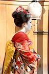Geisha Wearing Traditional Costume Stock Photo - Premium Royalty-Free, Artist: Jeremy Woodhouse, Code: 622-02759466