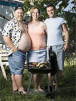 Family in trailer park Stock Photo - Premium Royalty-Freenull, Code: 640-02769460